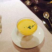 南瓜の冷製スープ。絶品!