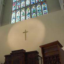 教会内の写真です。