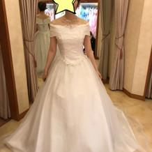 当日のドレスです