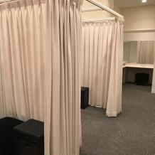 女性の更衣室