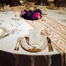 ゲストテーブルの例