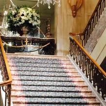 ここで写真が撮れます。写真専用階段