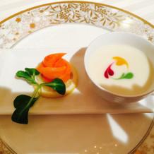 冷製スープが絶品