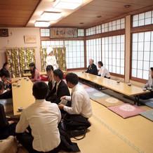 亀ヶ岡八幡宮・休憩室
