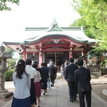亀ヶ岡八幡宮・花嫁行列
