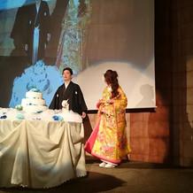 ケーキも可愛かったです!