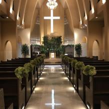教会のような雰囲気です。