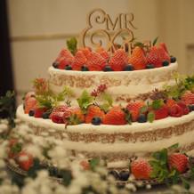 理想通りのケーキ