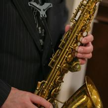 Jazzバンドの生演奏
