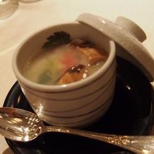茶碗蒸しは器も素敵でした