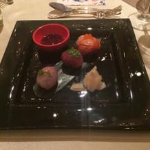 手毬寿司は見た目も可愛く食べやすいと好評