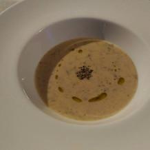 キノコのクリームスープ。