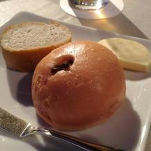 パンもとても美味しかったです。