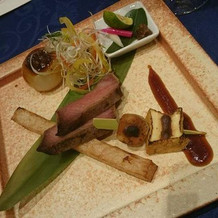 肉が柔らかくて、ゲストからも好評でした♪