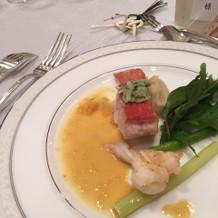 お魚はもちろん海老も新鮮で美味しかった