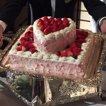 可愛いケーキを作ってくださいました!