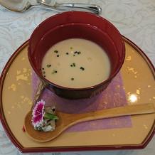 兵庫県産コシヒカリのスープ