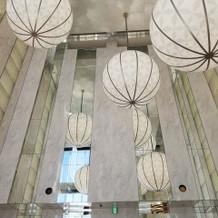 天井が高く開放感にあふれています。