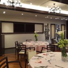 40階の披露宴会場のオープンキッチン