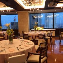 40階の披露宴会場