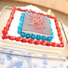 XJAPANのデザインのケーキ