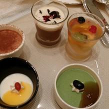 デザート5種類