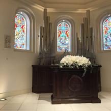 綺麗な教会でした
