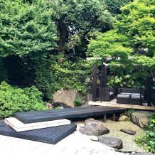ガーデンの一角