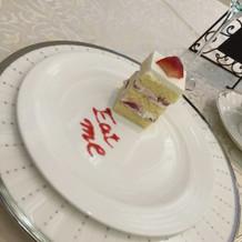 ティータイムのケーキです!