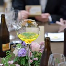テーブルラウンド①グラス