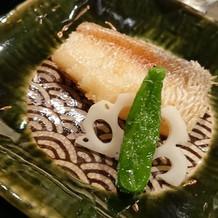 松笠焼きは大のお気に入りです。