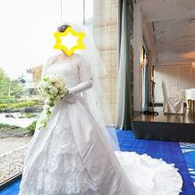 挙式用ウェディングドレス