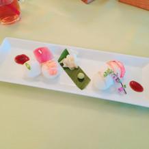 可愛いお寿司