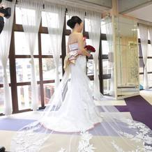 白無垢風ドレス