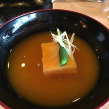 かぼちゃの冷製スープ
