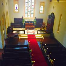 教会二階部分から