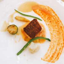 魚料理:真鯛のポワレ