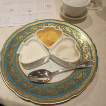 デザートの杏仁豆腐は絶品!