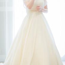 挙式のウェディングドレス