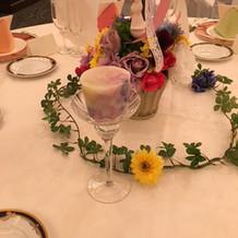 テーブル子―ディネート