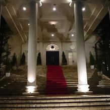 夜の大階段