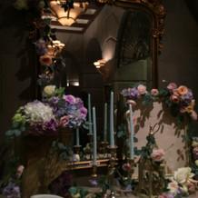 挙式場の可愛い鏡☆