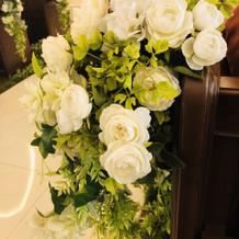チャペル装花