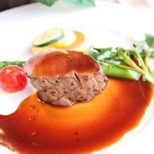 とても柔らかくて美味しいお肉てす!