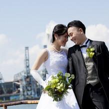 結婚式用の衣装!