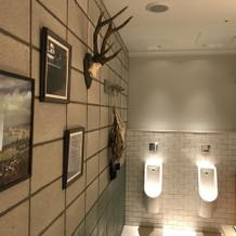 トイレすらおしゃれ。