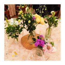 会場装花も理想通りでした。