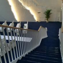 この階段をまずおります