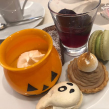 かぼちゃプリン人気でした!