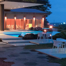 プールとガーデンがとても綺麗です。